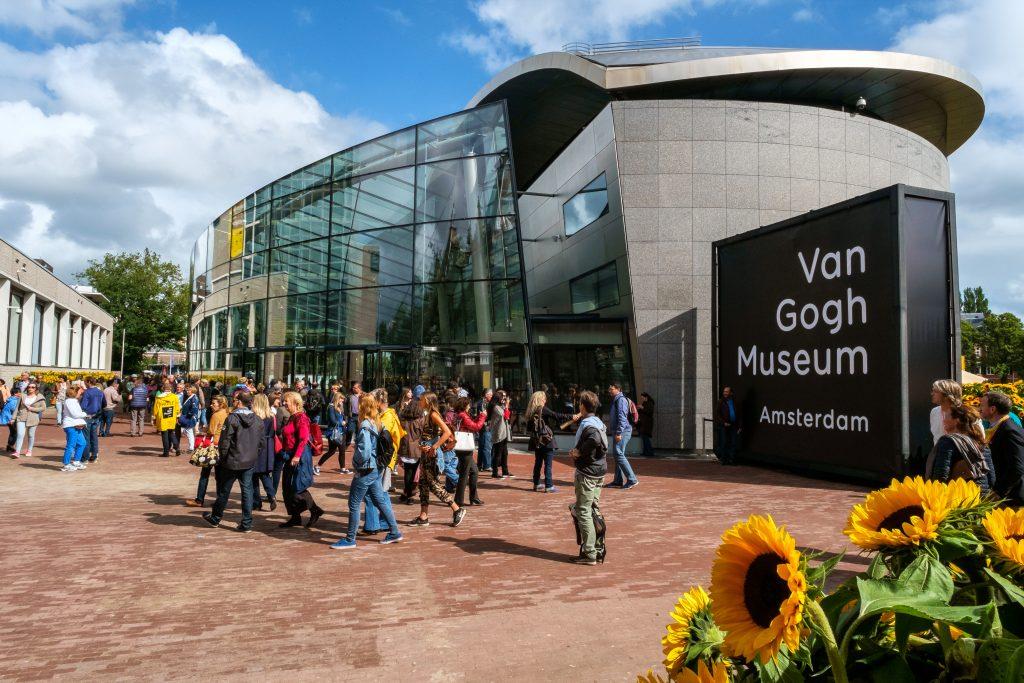 Het Van Gogh Museum in Amsterdam