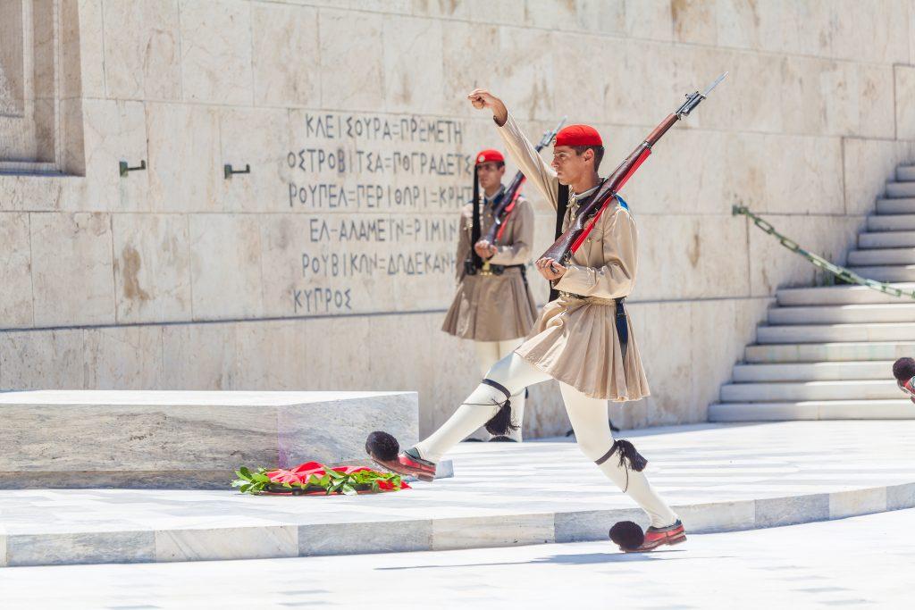 Athene, wisseling van de wacht