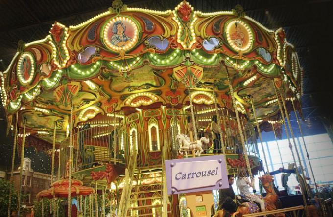 Plezier voor de hele familie in de Carrousel.