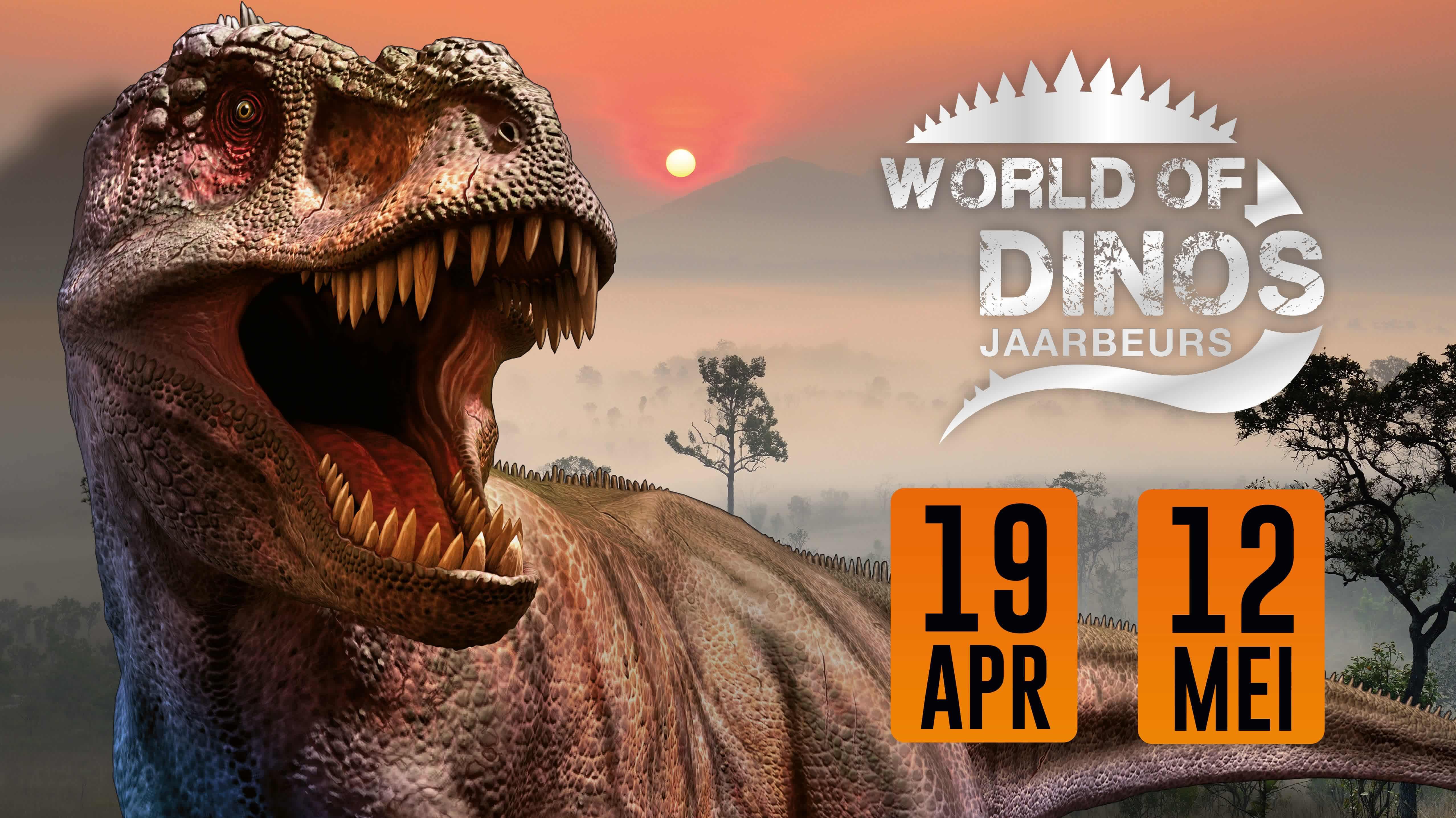 Verwonderend Tickets: World of Dino's Utrecht van 17,50 nu voor 12,50 EB-23