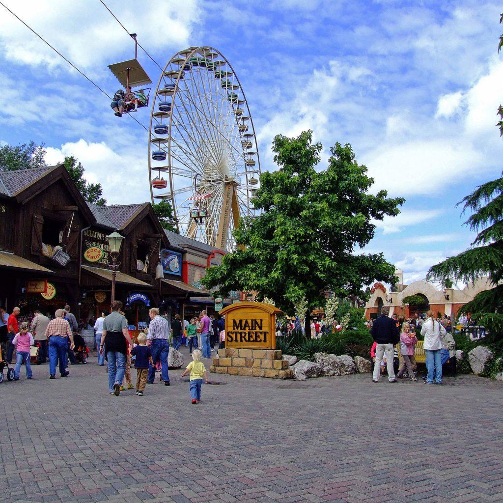 Geheel in Western stylein het attractie en vakantiepark Slagharen