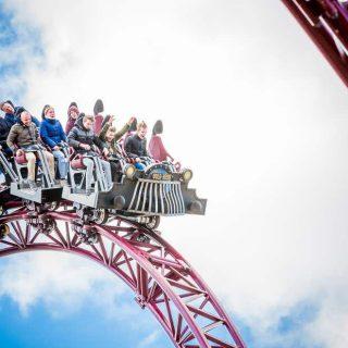 Extreme rides in Attractie en Vakantiepark Slagharen