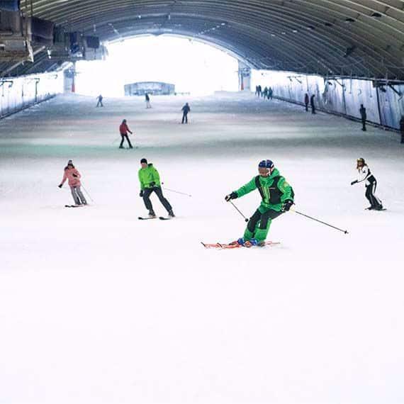 Snowworld skihal keuze uit 6 lokaties