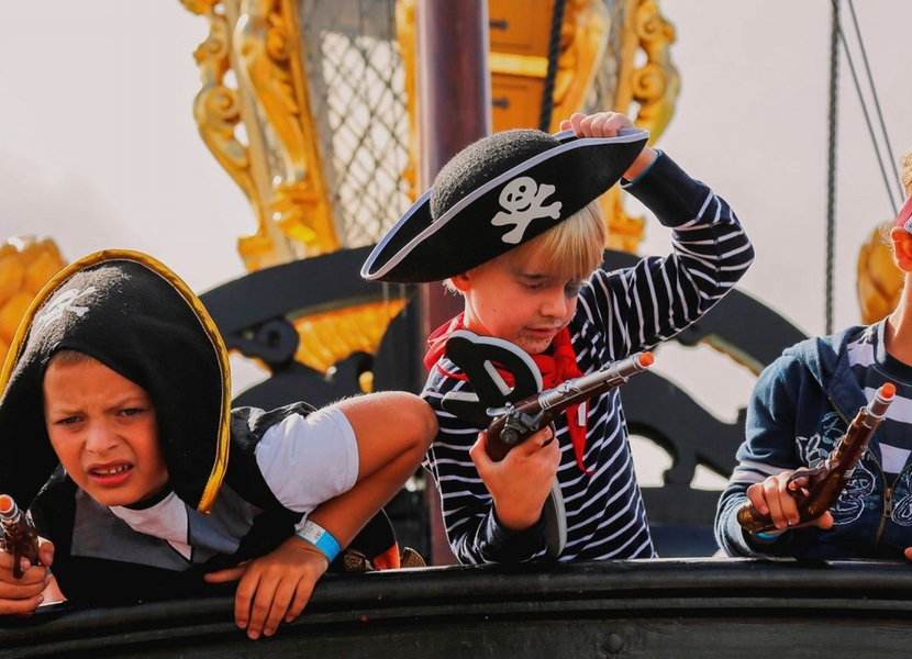 Beleef spannende piraten avonturen in Museum Batavialand.