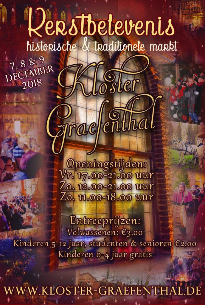 Kerstmarkt Klooster Graefenthal 7 8 9 December 2018