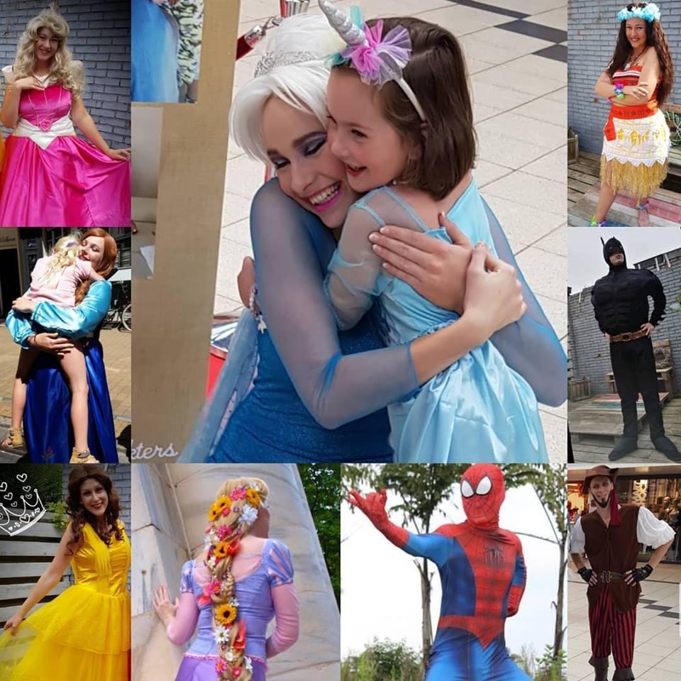 Een magisch prinsesjesfeest voor iedere Jarige & Friends bij u thuis