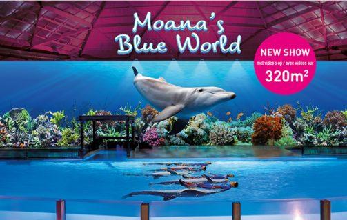 Moana's Blue World in Boudewijn Seapark Winterpret