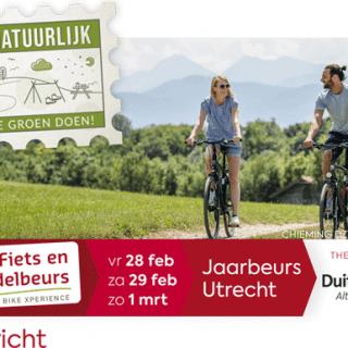 Fiets en Wandelbeurs 2020 in Utrecht