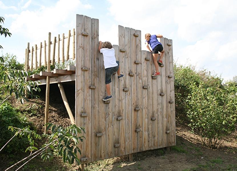 Ook plezier voor de kinderen in de Tuinen van Appeltern