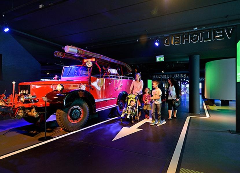 doe de brandweer speurtocht in het Veiligheidsmuseum