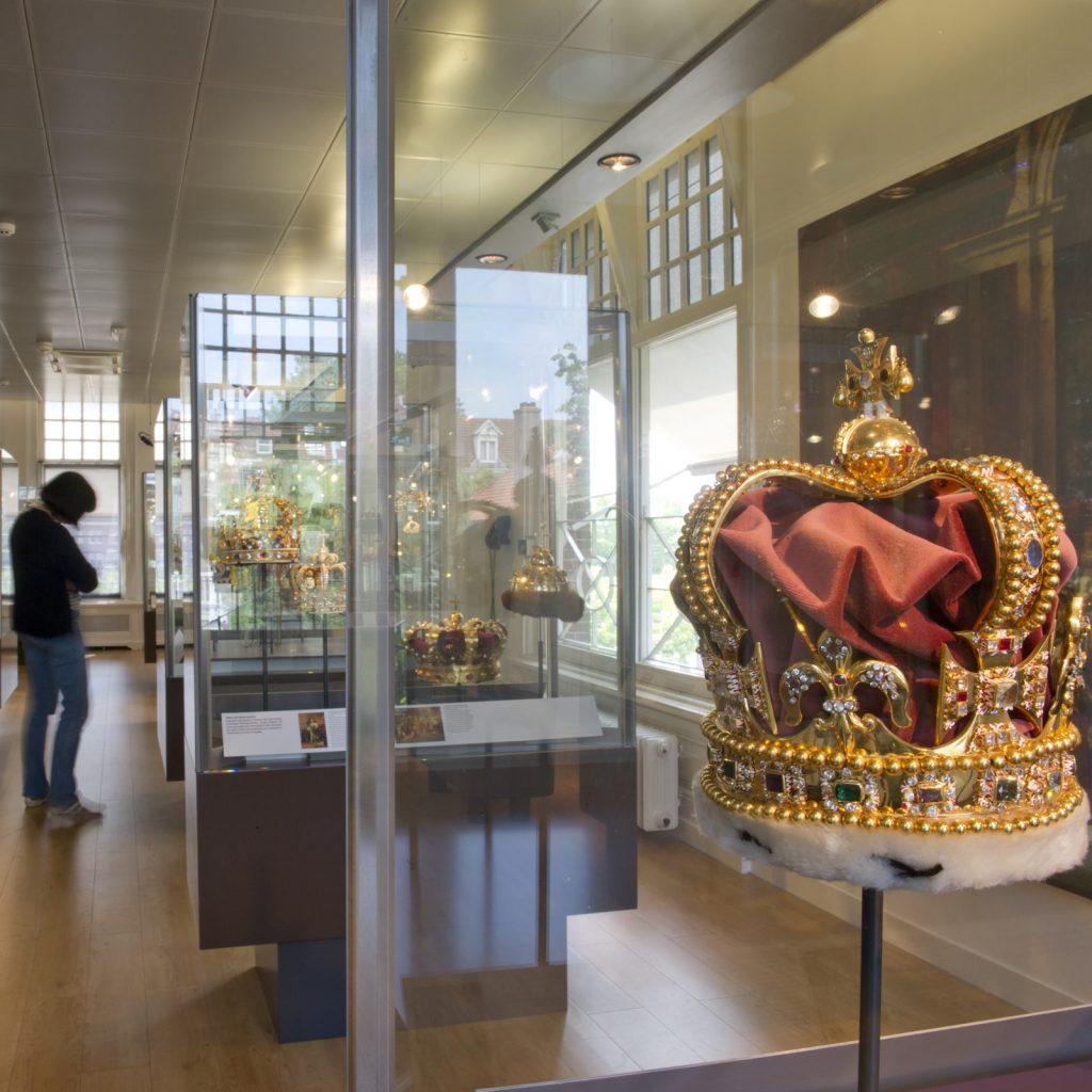 Prachtige diamant collectie in het Diamant Museum