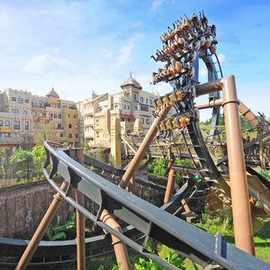 Spectaculaire attracties in Phantasialand