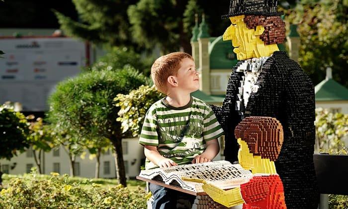 Onvoorstelbaar wat er met lego gebouwd is in Legoland, Denemarken