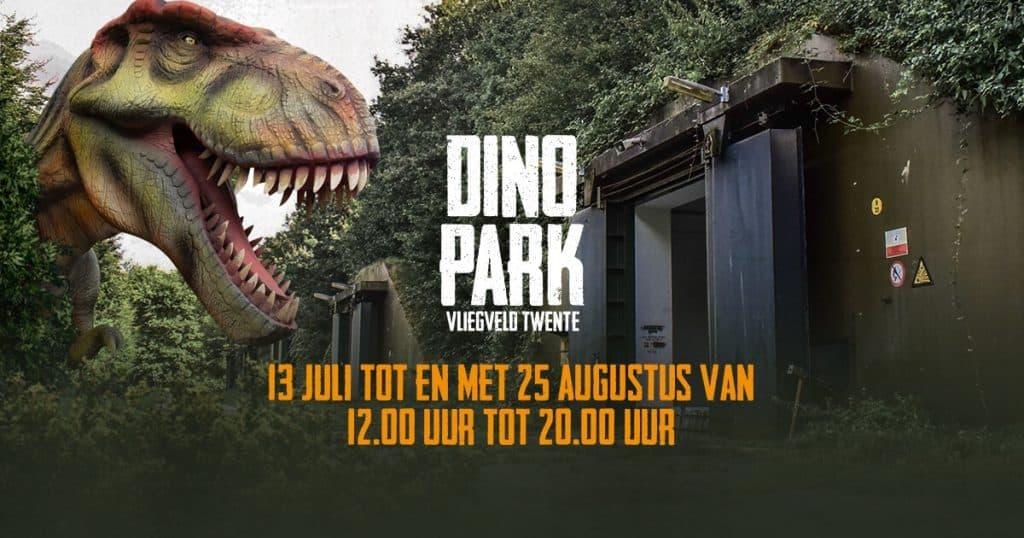 Nieuw Dinopark Twente korting tickets van 14,50 voor 8,50 sta oog in oog TP-01