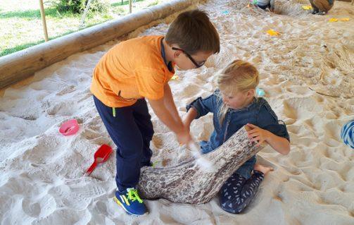 Zelf je dinobotten en -eieren opgraven in Dinopark Landgoed Tenaxx