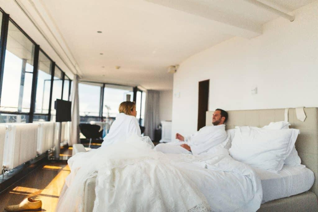 Origineel idee voor je huwelijksnacht op grote hoogte op de Euromast