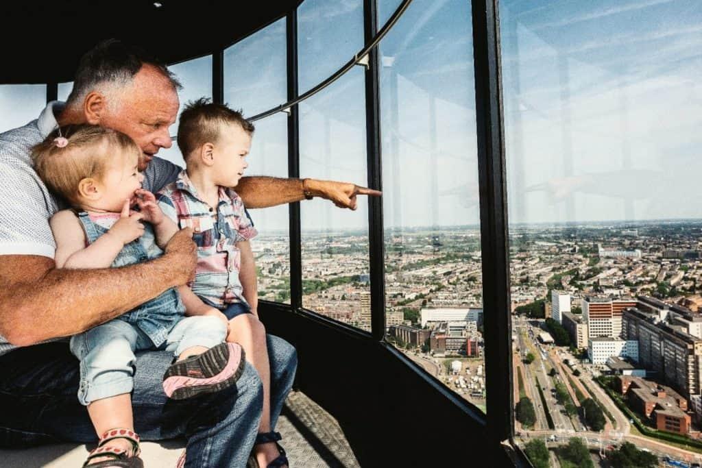 Plezier voor jong oud tijdens je verblijf op de Euromast