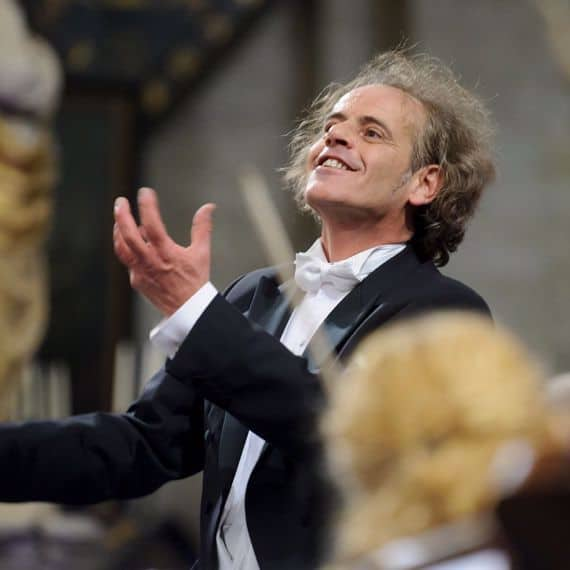 Dirigent Raymond Janssen.
