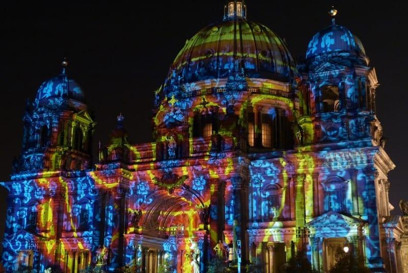 Berlijn in kerstsferen.