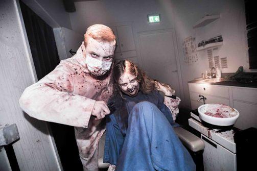 Creaps genoeg tijdens de Halloween Fright Night.