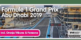 Formule I bezoeken in Abu Dhabi.