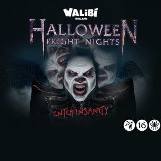 Halloween Fright Nights in Walibi Holland.