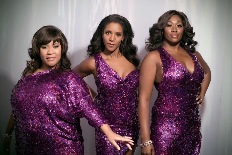 de 3 zangeressen van soul sisters