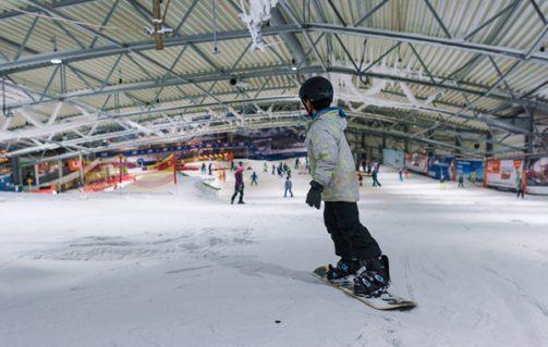 Show je skills als snowboarder in De Uithof.