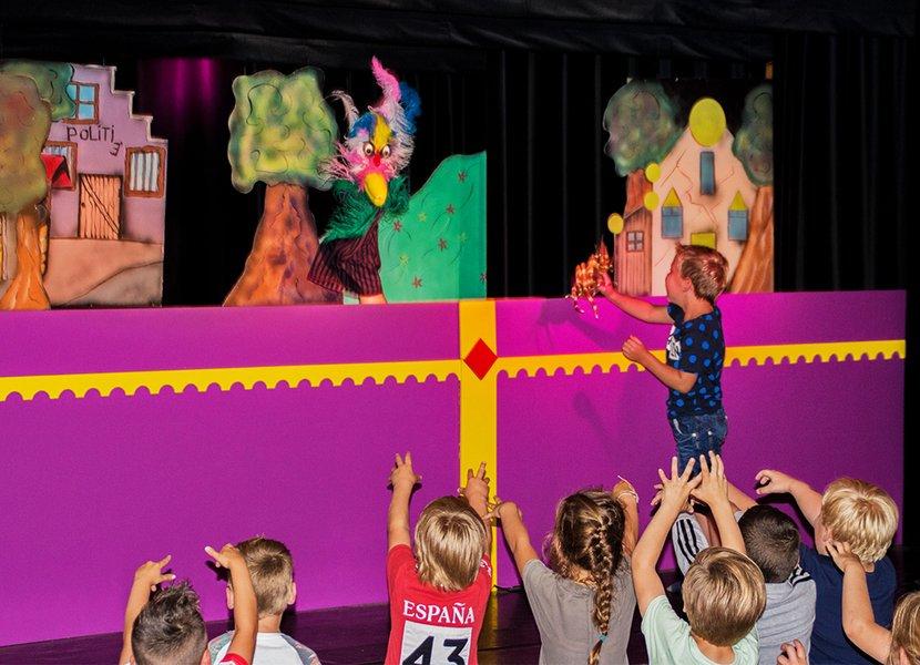 het grootste poppen theater van Nederland