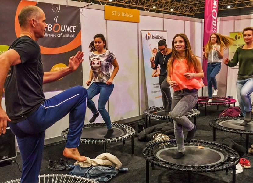 Aktief bezig zijn tijdens de Gezondheidsbeurs in Utrecht