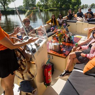 Prive boot huren in Amsterdam