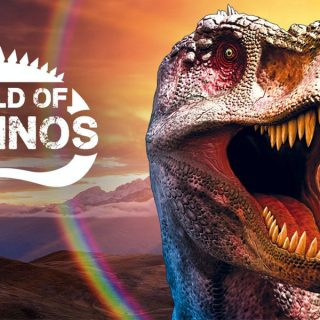 world of dinos 2020 in de jaarbeurs in Utrecht