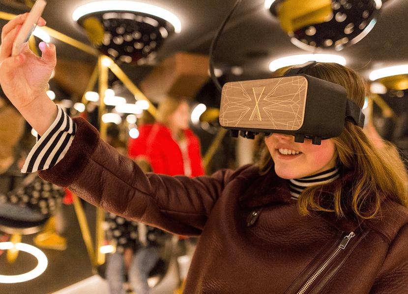 Virtual reality in het Scheepvaartmuseum