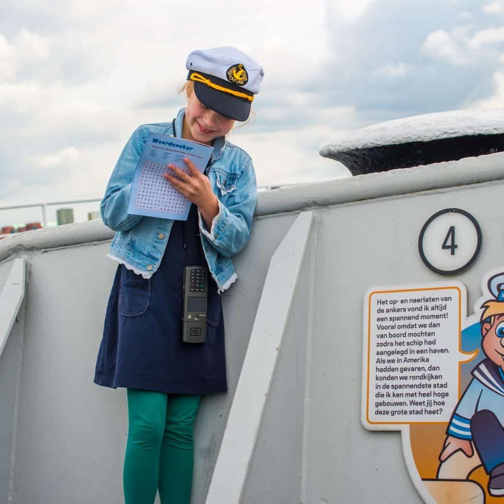 Voor kinderen is er veel te doen op de SS Rotterdam