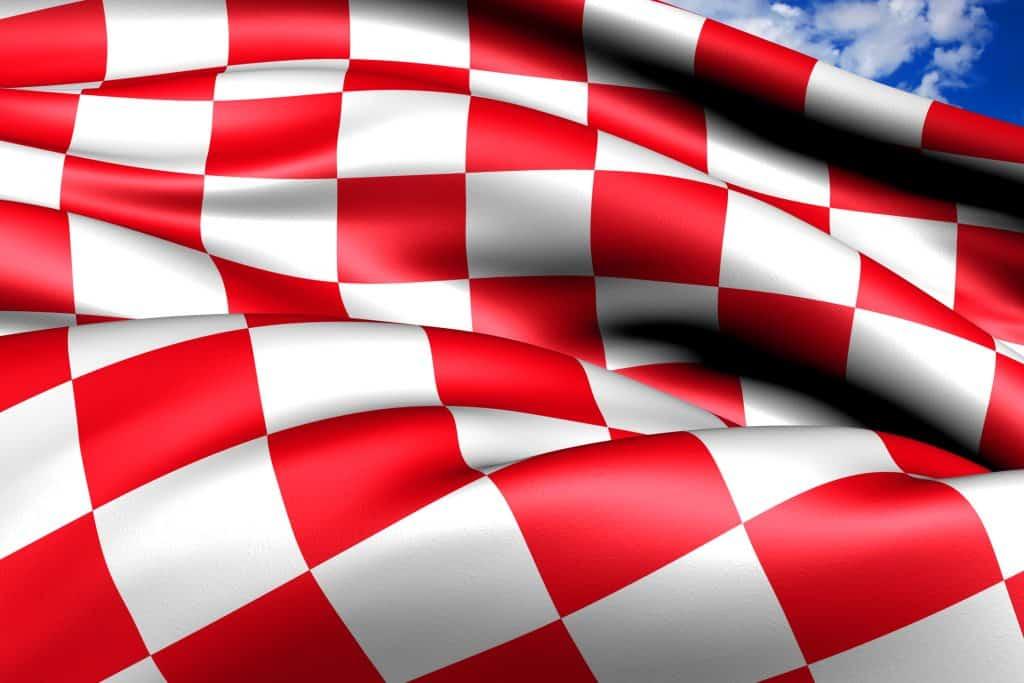 De vlag van Noord Brabant