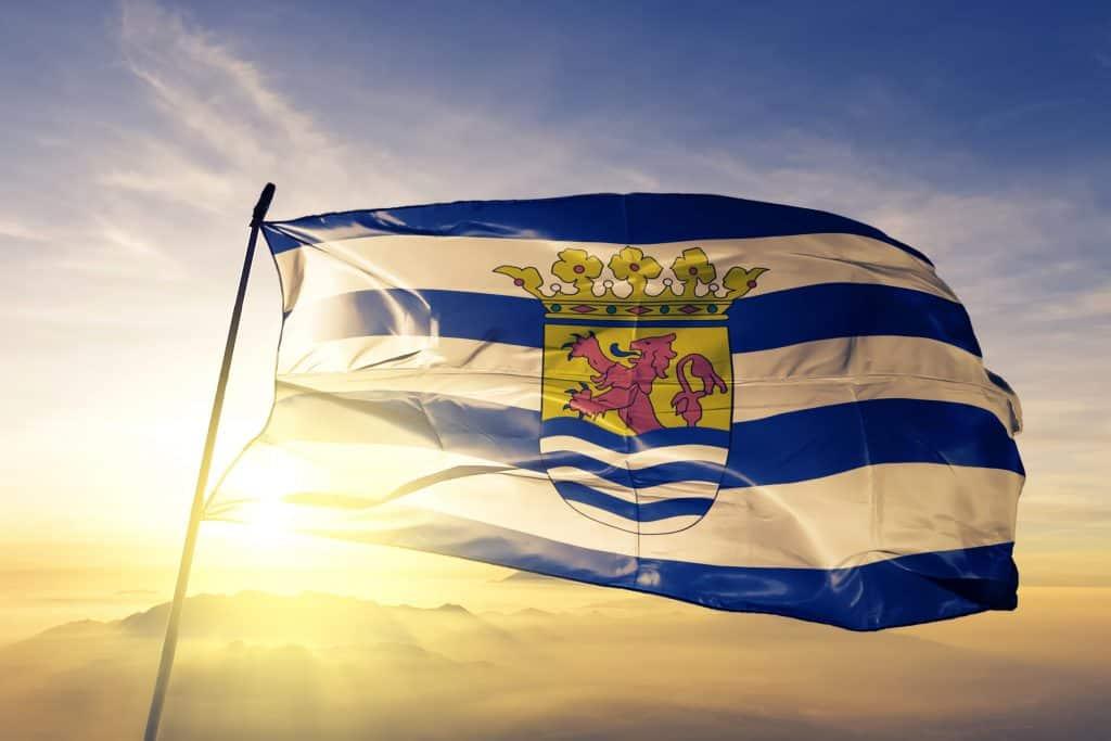 De vlag van Zeeland