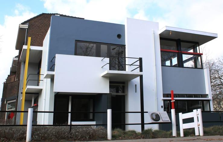 Het Rietveld Schröder huis tijdens je Dagje uit Utrecht stad.