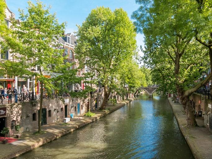 De Oudegracht Utrecht